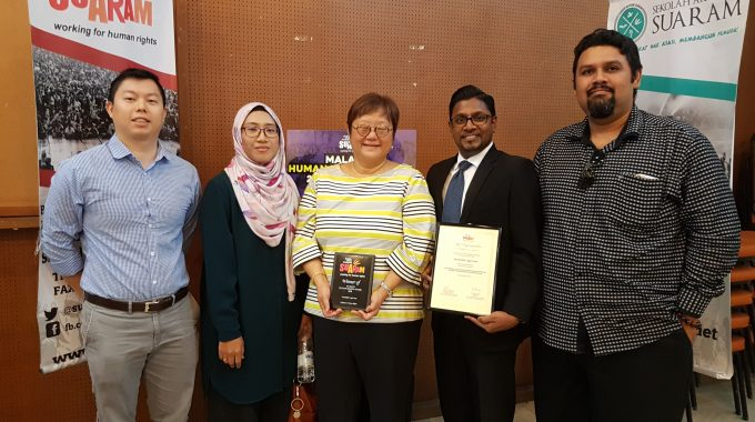 Teacher Noorfadilla's Battle Against Pregnancy Discrimination Recognised With Human Rights Award