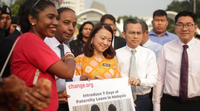 WAO Petition For 7 Days Of Paternity Leave Garners Over 39,000 Signatures