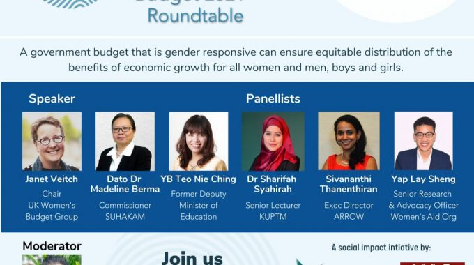 ENGENDER And WAO Budget 2021 Roundtable Event Highlights The Need For Gender Responsiveness And Public Participation In Budget